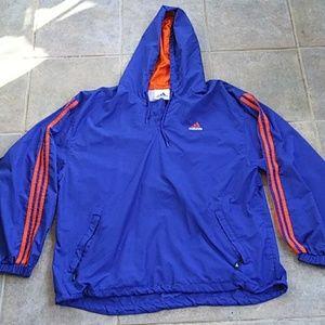Adidas Hooded Windbreaker